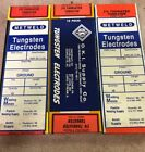 """2% Thoriated Tungsten Tig Welding Electrodes  1/16"""" X 7"""" 10 Pack Made In USA"""