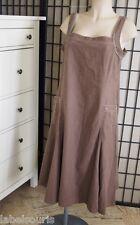 Robe JACQUELINE RIU taille 44 lin et coton Y7186