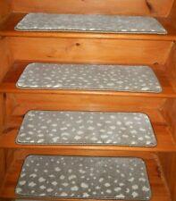 "14  Step  9"" x 30"" + 1 Landing  30"" x 30""   Stair Treads 100% Wool  Carpet"