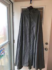 Blue-Gray Viking Cloak Larp Medium