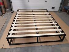 Modernes industrie doppel Metallbett Olimp 160x200 inkl. Lattenrost, Loft