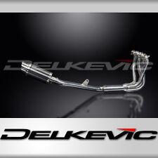 "Honda CB1100 X11 Complete Stainless 4-1 Exhaust 8"" Carbon Muffler 99 00 01 02 03"