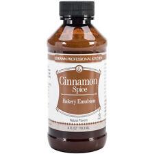 Lorann Oils Bakery Emulsions Natural and Artificial Flavor Cinnamon Spice 4 Fluid Ounce