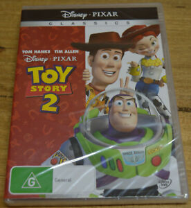 Toy Story 2 (DVD 1999) - Disney Pixar - Region 4 - BNIP - Tom Hanks, Tim Allen