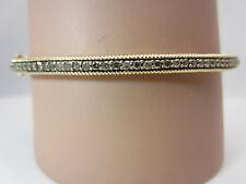 14K Yellow Gold 1.00 carat Diamohd Bangle Bracelet
