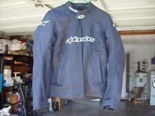 ALPINESTARS STELLA T-GP PLUS AIR BLACK MOTORCYCLE JACKET 2XL ARMORED BEAUTIFUL