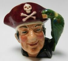 Royal Doulton Character Toby Jug Long John Silver Treasure Chest D7138 4""