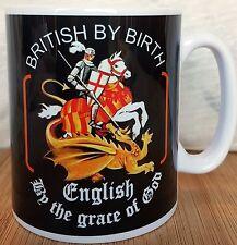 England Tasse, Britannique Par naissance anglais par la grâce de Dieu, Saint George & Dragon