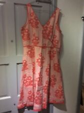 boden  summer sleevless dress size 18