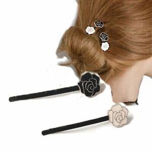 Flower Hair Clips Women Barrette Crab Headband Headwear New Ornament Accessories
