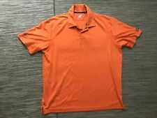 Ogio Waypoint Men's XL Polo Shirt Orange Polyester Short Sleeve Golf Shirt