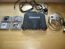 Nintendo N64 with Controller and 4 Games Inc Golden Eye
