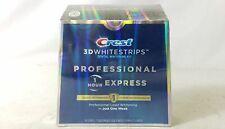 Crest 3D Whitestrips Professional Express Teeth Whitening Kit Exp Feb 2022