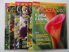 Garden Gate Magazine; 6 Issues from 2004, Feb, Apr, Jun, Aug, Oct, Dec
