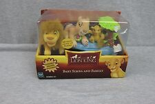 NEW Hasbro Disney The Lion King Lovable mini Plush Baby Simba & Family Sealed
