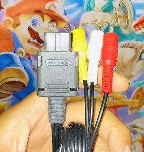 Authentic OEM Genuine Super Nintendo 64 N64 Gamecube SNES Famicom AV Cable