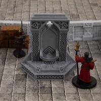 Dwarven Throne | 28mm Scale Terrain | Warhammer | Dungeons and Dragons