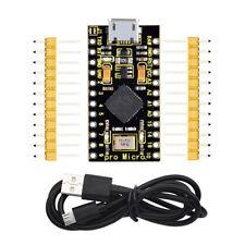 KEYESTUDIO ATmega32U4 Pro Micro Controller Board for Arduino Micro USB 5V 16Mhz