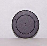 """Used Rear Lens Cap """"For Nikon """" Ai Ai-s lesnes twist on type black  B20036"""