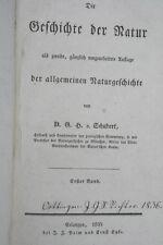 G.H. de Schubert-Histoire de la nature, 1835