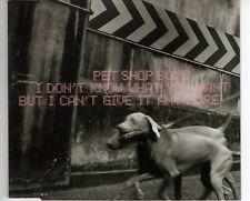CD PET SHOP BOYSi don't know what you wantMAXI CD EX+ (B2827)