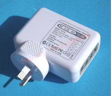 4 USB Ports Wall Charger Travel Home Adapter for iPhone iPad iPod 15W AU Plug