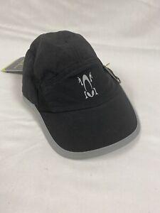 NWT Amphipod Reflective 360º Full-Viz™ Black Reflective Hat Adjustable Band