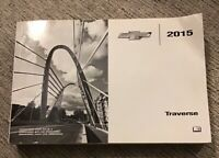 2015 Chevy Chevrolet Traverse Owners Manual OEM Free Shipping