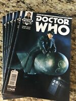 Dr Who Lot-  6 Copies of 1:25 Variant Dr Who: The Ninth Doctor 2015 Titan Books