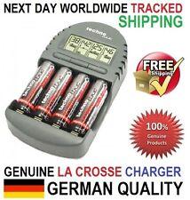 Original Genuine La Crosse (Technoline) BC-450 Smart Charger Tester, AA/AAA, EU