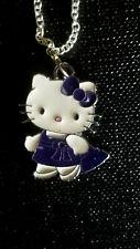 Hello Kitty Purple dress & Purse Shopping Bag  shoe bag sale charm necklace