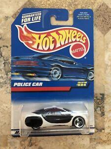 Hot Wheels Police Car (GM Ultralite) #594
