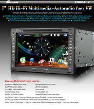 """ES8048GE 7"""" HD Autoradio Car DVD Player GPS DVB-T WiFi 3G Doppel Din für **VW**"""