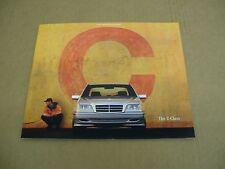 1999 Mercedes Benz C230 C280 C43 AMG C-Class sales brochure dealer literature