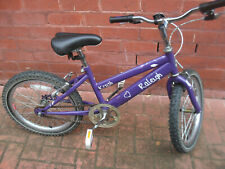 RALEIGH GIRLS MOUNTAIN BIKE,30CM FRAME,USED CONDITION