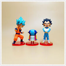 "LOT of  3 banpresto DragonBall Z DBZ  goku vegeta Zen'ō figure 2""-3"" LOOSE"