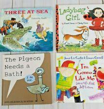 The Pigeon Needs a Bath! Ladybug Girl I'm Gonna Like Me Three at Sea lot Books