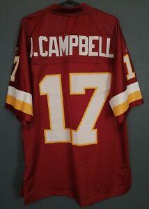 MEN'S WASHINGTON REDSKINS JASON CAMPBELL #17 NFL FOOTBALL SHIRT JERSEY SIZE M