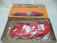 1/24 1964 ORIGINAL ISSUE FERRARI 250 GTO COUPE REVELL RED SLOT CAR BODY KIT-MIB