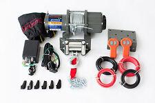 12 Volt,elektrische Seilwinde,4000 lb,1818 kg Winde,CE, 2 x Funkfernbedienung