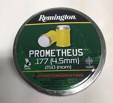 REMINGTON PROMETHEUS AIR GUN AIR RIFFLE PELLETS .177 (4.5MM) CALIBER YELLOW