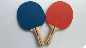 Vintage Sportcraft Ping Pong Paddles Set Of 2 Wood
