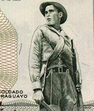 PARAGUAY billet neuf de 1 GUARANI P193b SOLDAT A LA MACHETTE  PARLEMENT 1952