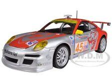 "PORSCHE 911 GT3 RSR #45 ""FLYING LIZARD"" 1/24 DIECAST CAR MODEL BY BBURAGO 28002"