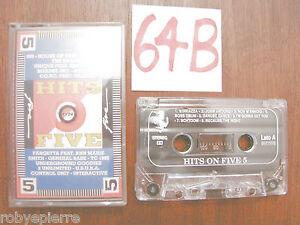 MC Cassetta Musicassetta Audio Vintage HITS ON FIVE promospot 6016-4 con gli 883