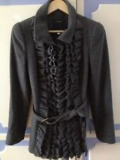 Authentic Perfectly Tailored Roberto Cavalli Wool Coat, size IT42 or UK10 - VGC