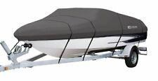Classic Accessories StormPro Boat Cover Grey Fits: 16' to 18.5'L Model C 88938