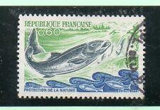 Francia Fauna Peces Valor del año 1971-72 (CP-947)