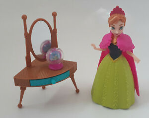Genuine Disney Princess MAGICLIP Princess Anna of Arendelle Doll Playset *RARE*