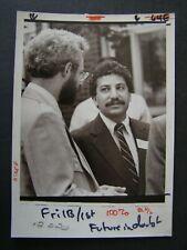 Glossy Press Photo Dept of Mental Health Sen George Bachrach & Harold Login